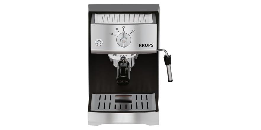 Krups Coffee Maker Xp4020 Manual : Krups Pump Manual Espresso Machine