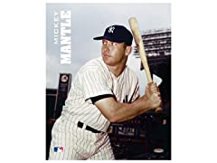 "Mickey Mantle 8"" x 10"""
