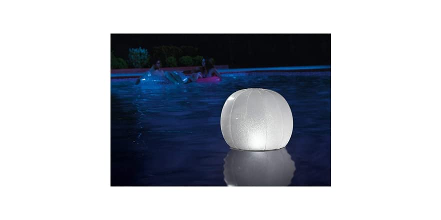 Floating Led Inflatable Ball Light