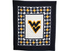West Virginia Quilted Throw