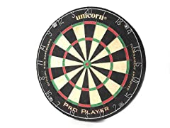 Unicorn Pro Player Bristle Dartboard