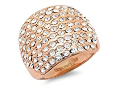 18 kt Rose Gold Plated Cocktail Ring