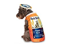 Bark Brew Pet Costume, Medium