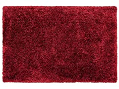 Shag Rug - Goddess Brick Red