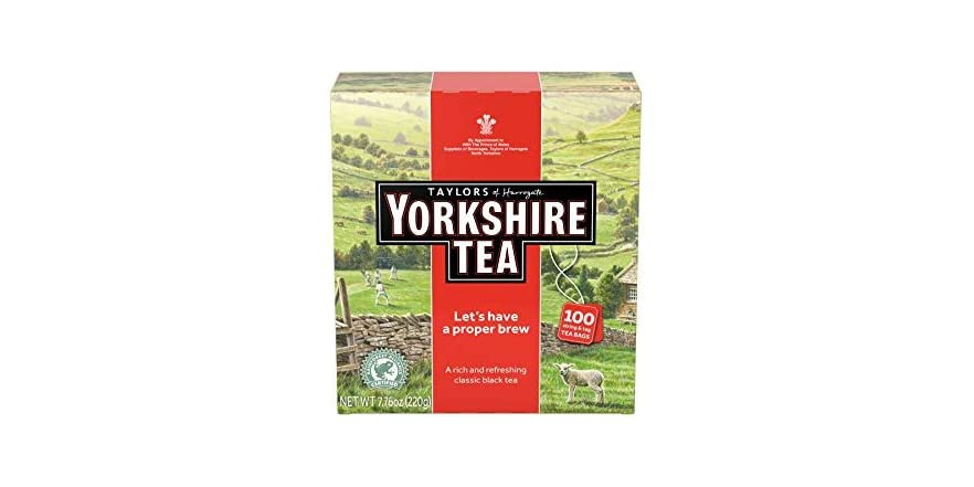 Taylors of Harrogate Yorkshire Red- 100 Teabags | WOOT