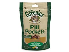 Greenies Feline Chicken Pill Pockets 3pk