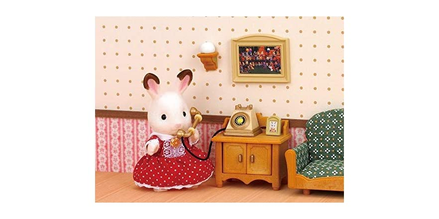 Calico critters deluxe living room set - Calico critters deluxe living room set ...