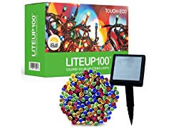 Liteup 100 Solar LED String Light, Your Choice