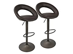 Lumisource Metro Barstool - Set of 2