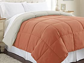 Down Alternative Reversible Comforters