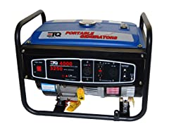 ETQ 4,000 Watt Portable Gas Generator