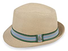 Green Ribbon Fedora (6M-4T)