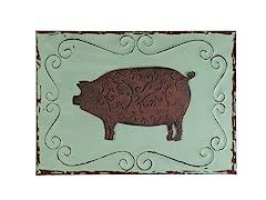 Pig Wall Plaque