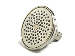 Single-Spray Showerhead, Brushed Nickel