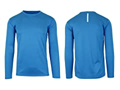 Men's Moisture Wicking L/S Tee