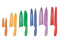 12-Piece Color Knife Set