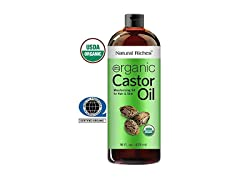Natural Riches Organic Castor Oil