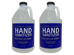 80% Alcohol Hand Sanitizer, 64oz. 2-Pack
