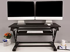 "36"" Desktop Adjustable Stand Desk"
