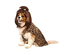 Rubie's Cave Girl Pet Costume & Wig, LG