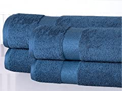 Oversized Cotton 550GSM Bath Sheets- 4PC