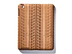 Bamboo Tire Tracks Cover for iPad 2 & 3