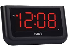 "RCA Digital Alarm Clock w/ 1.4"" Display"