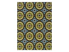 Cottage Blue/Lime Rug (Multiple Sizes)