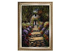 Monet - Garden Path at Giverny