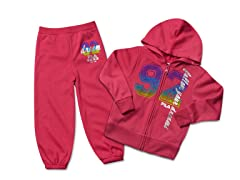 Hot Pink Fleece Set