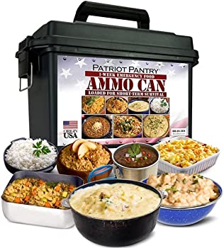 Patriot Pantry 1 Week Food Supply Ammo Can Only 29 99