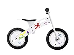 Smart Gear White Graffiti Balance Bike