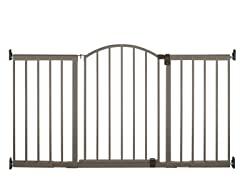 6 Foot Extra Tall Metal Expansion Gate