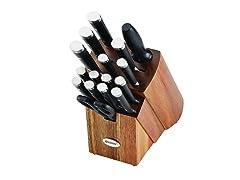 Anolon Cutlery 17-Piece Block Set