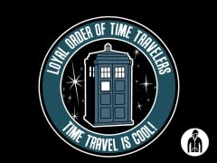 Time Travel is Cool Jersey Zip Hoodie