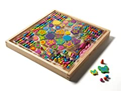 Bead Bouquet Dlx Wooden Bead Set