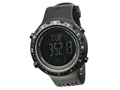 Men's Singletrak Blk/Blk Digital Watch