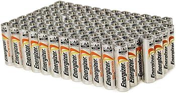 100-Pk. Energizer AA Alkaline Batteries