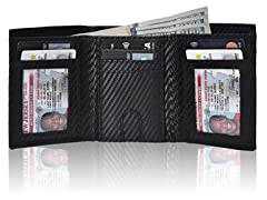 RFID TRV 26 Leather Wallets, Color of Choice