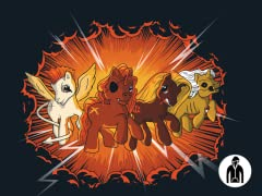 Four Little Ponies... Zip Hoodie