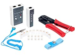 Network Connecting & Testing Kit, 24 Piece