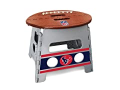 NFL Folding Step Stool