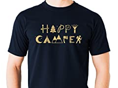 Camping Makes Me Happy Graphic Tee