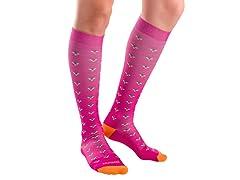 Fresh Legs Ditsy Flower Compression Socks