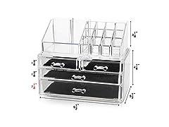 Unique Home Makeup Organizer Storage Box