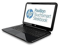 """HP Pavilion 15.6"""" TouchSmart Sleekbook"""
