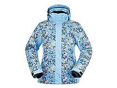 ANDORRA Ski Jacket Blue Starburst