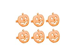 DII Halloween Napkin Rings - Set of 6
