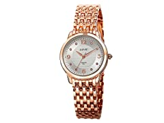 August Steiner Women's Diamond-Accented Watch