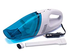 Xpress Car Vacuum Cleaner White/Blue